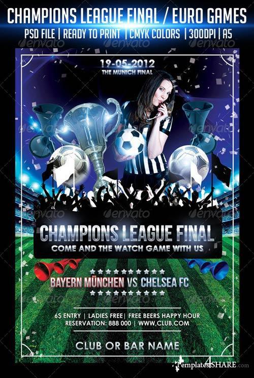 GraphicRiver Champions League Final