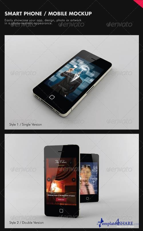 GraphicRiver Smart Phone / Mobile Mock-ups