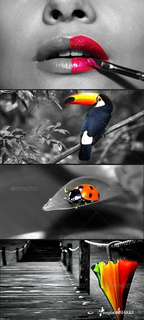 GraphicRiver Hot Spot Photoshop Action