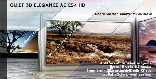 Quiet 3D Elegant Slideshow- Projects for After Effects (VideoHive)