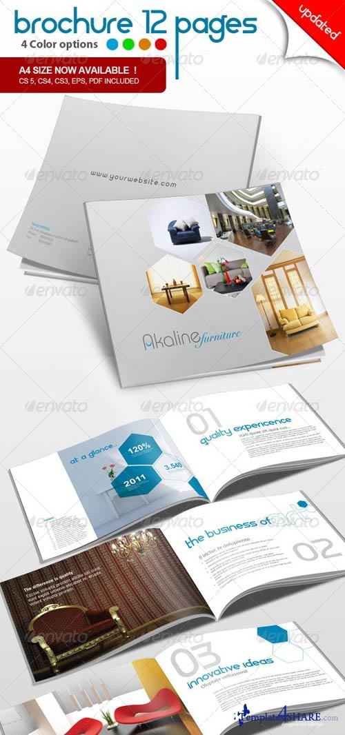 GraphicRiver Corporate Brochure 12 pages
