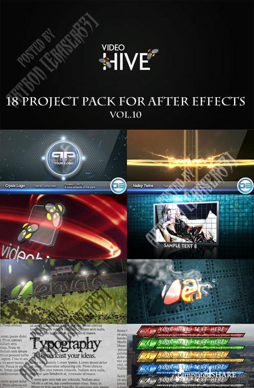 18 Project Pack for After Effects Vol.10 (Videohive) - REUPLOAD