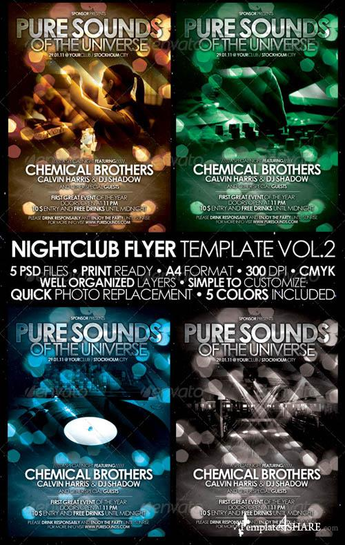 GraphicRiver Nightclub Flyer/Poster Template Vol. 2