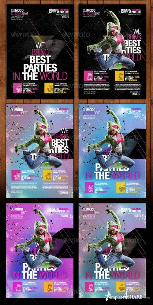 GraphicRiver Ministry of Sound Party Poster Template