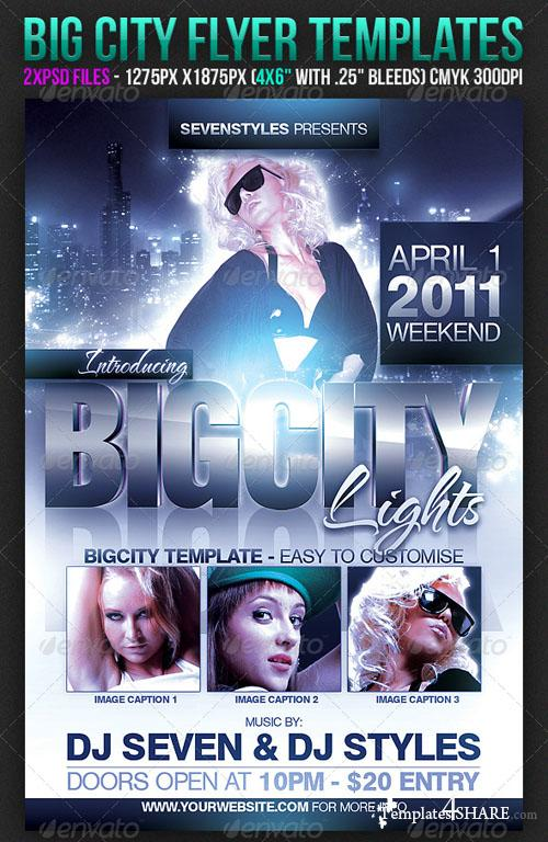GraphicRiver Big City Flyer Template