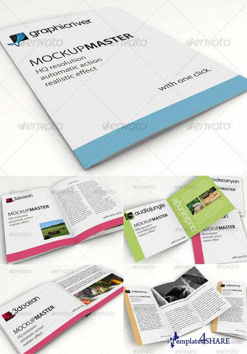 GraphicRiver Mock-up Master Template - ID Series 01