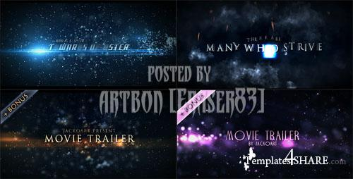 Videohive Projects - Movie Trailers Pack 1