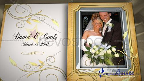 Wedding Book - Project for After Effects (Revostock) - REUPLOAD