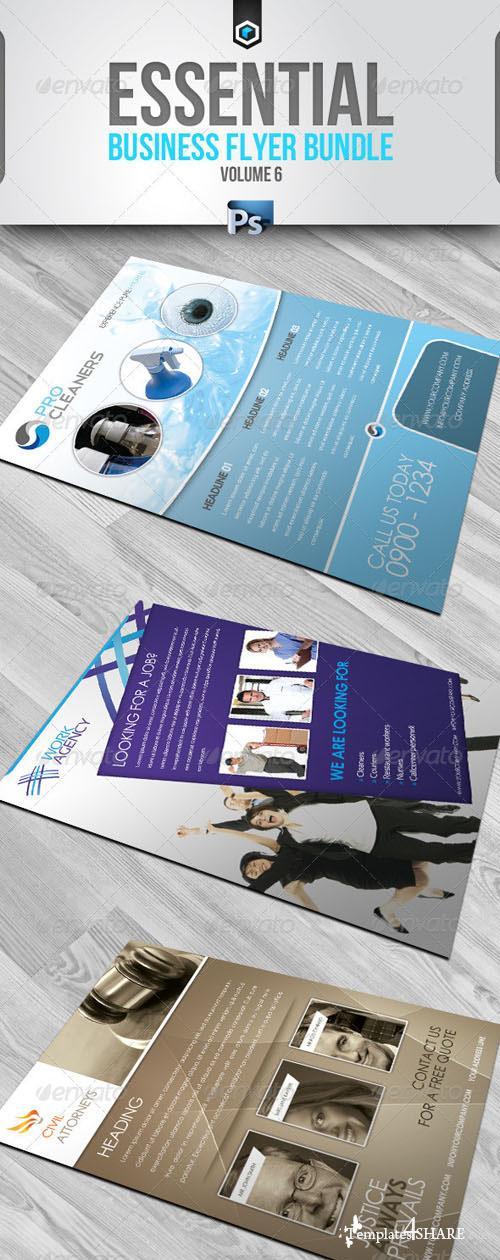 GraphicRiver RW Essential Business Flyers Bundle v6