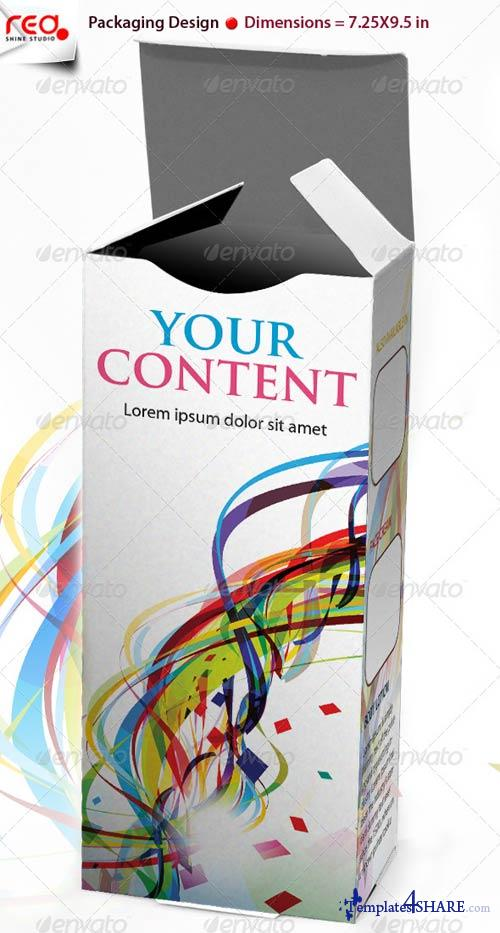 GraphicRiver 3D Box Template