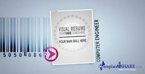 Visual Resume Alpha - Animated Curriculum - Projects for After Effects (VideoHive)