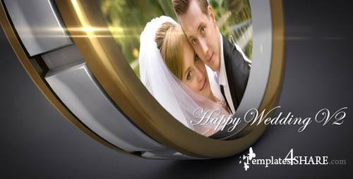 Happy Wedding V2 - Projects for After Effects (VideoHive)