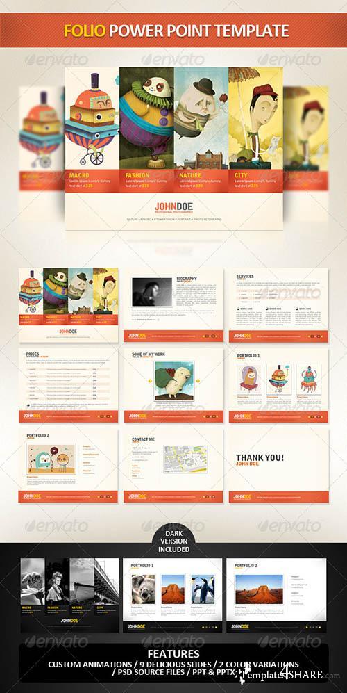GraphicRiver Folio PowerPoint Presentation