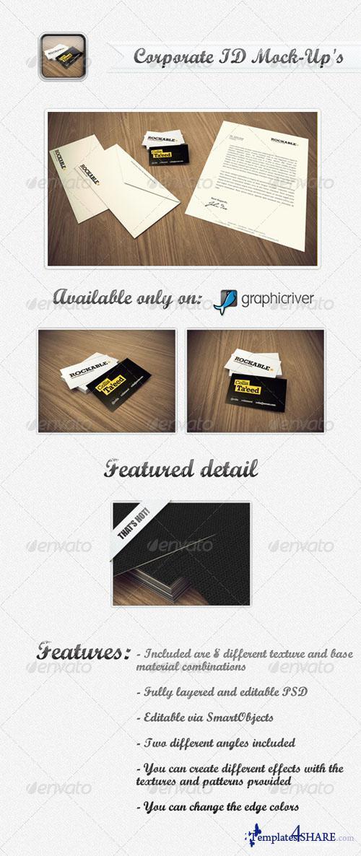 GraphicRiver Corporate ID Mock-Ups Template