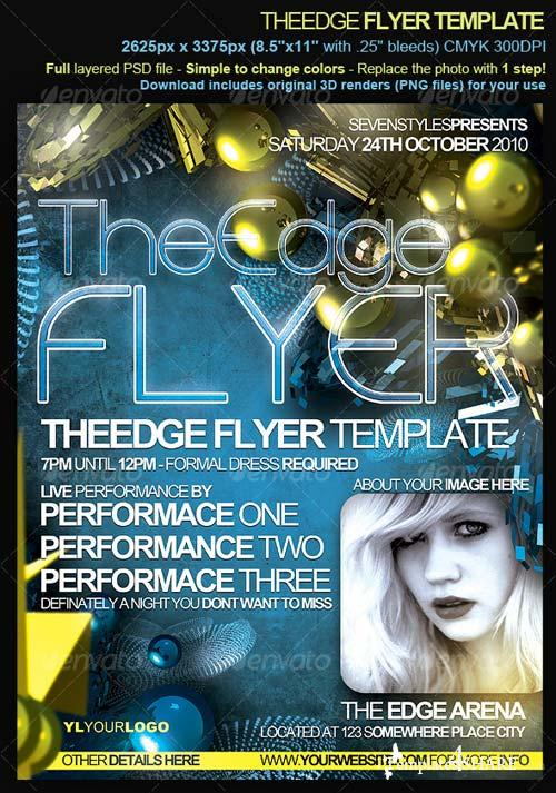 GraphicRiver TheEdge Flyer/Poster
