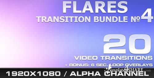 Flares Transition Bundle - 4 - Motion Graphics (VideoHive)