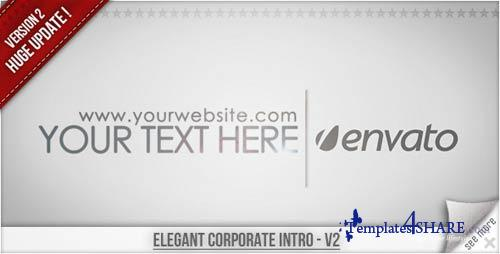 Elegant Corporate Intro - Projects for After Effects (VideoHive)