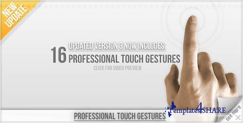 Professional Touch Gestures - Projects for After Effects (VideoHive)