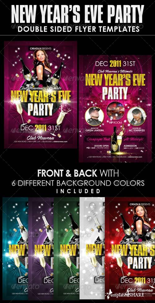 GraphicRiver New Years Eve Party Flyer Templates