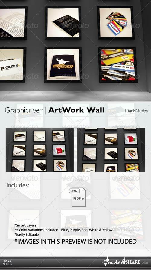 GraphicRiver ArtWork Wall Template