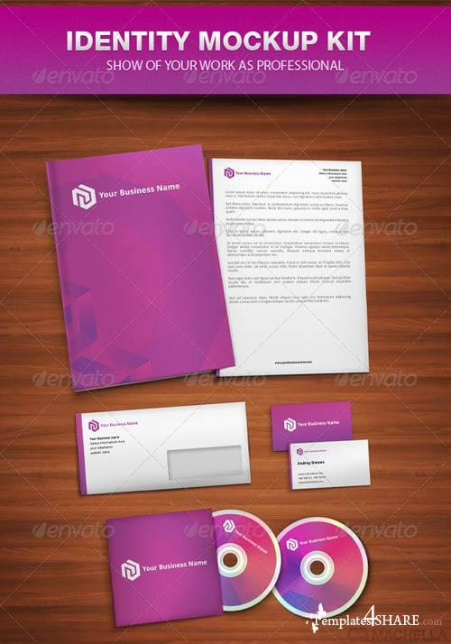 GraphicRiver Identity Mock-up Kit Templates