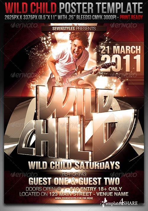 GraphicRiver WildChild Poster/Flyer