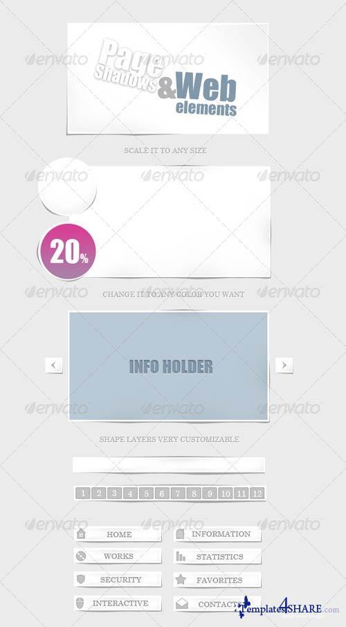 GraphicRiver Web Elements v1