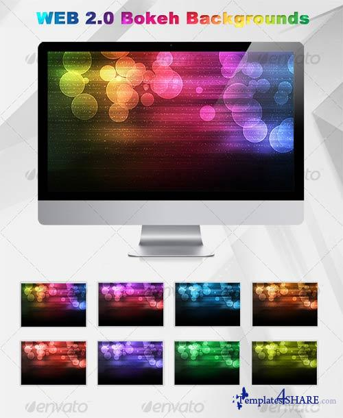 GraphicRiver Web 2.0 Bokeh Background