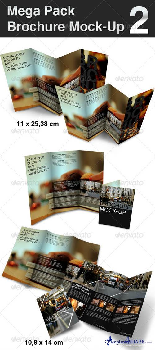 GraphicRiver Mega pack Brochure - Mock-Up 2