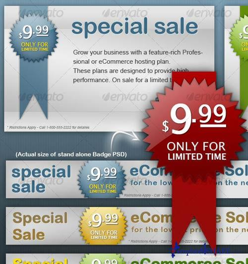 GraphicRiver Clean Banners & Badges