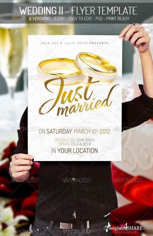 GraphicRiver Wedding Flyer II