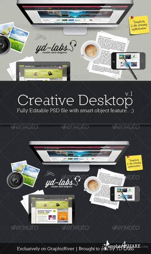 GraphicRiver Creative Desktop