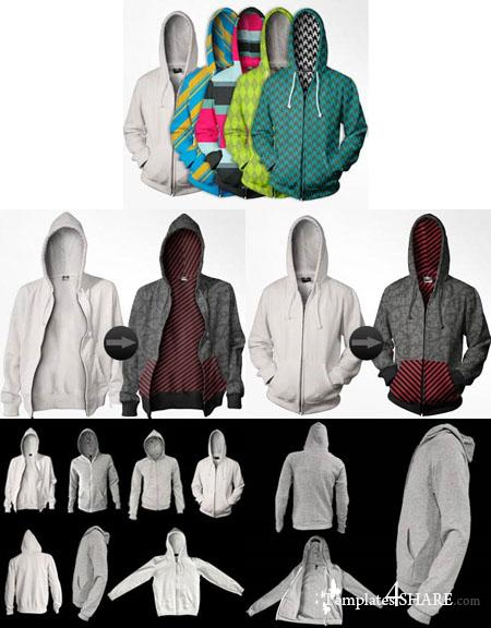 Go Media's Arsenal PSD Templates: Advanced Hoodie Templates Package
