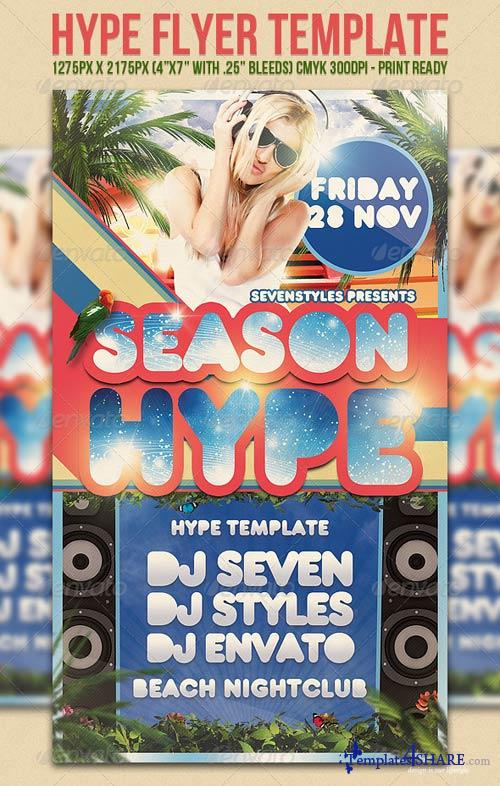 GraphicRiver Hype Flyer Template