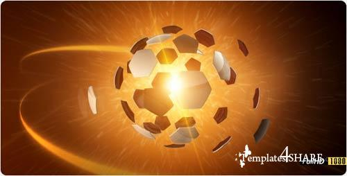 3D Explode Football FullHD - Projects for After Effects (VideoHive)