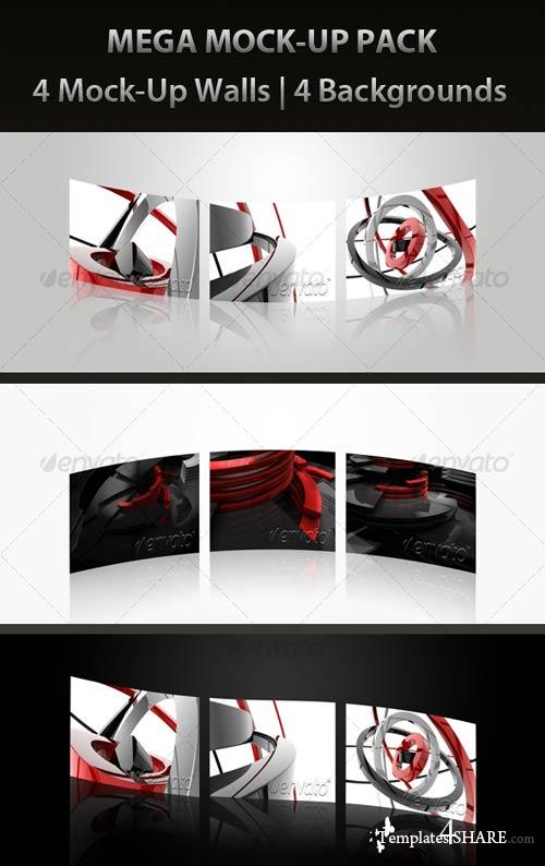 GraphicRiver MEGA MOCK-UP PACK