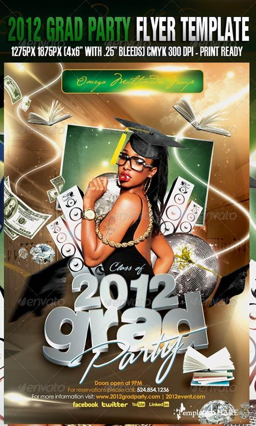 GraphicRiver 2012 Grad Party Template