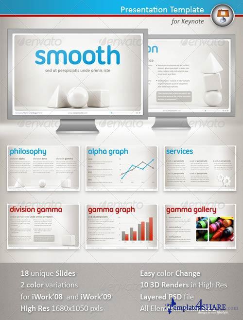 GraphicRiver Smooth Keynote Presentation