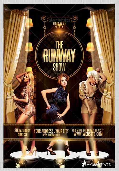 GraphicRiver The Runway Show Flyer Template