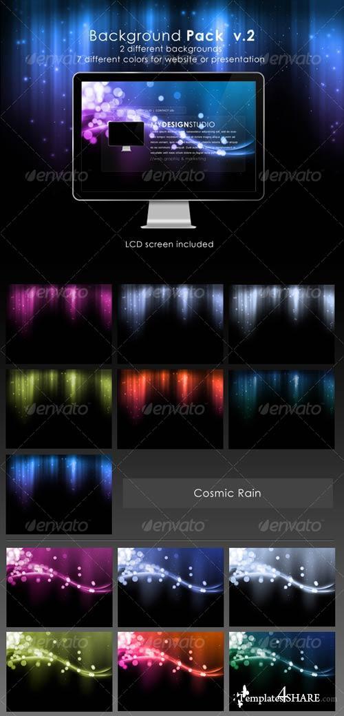 GraphicRiver Website Background Pack V.2