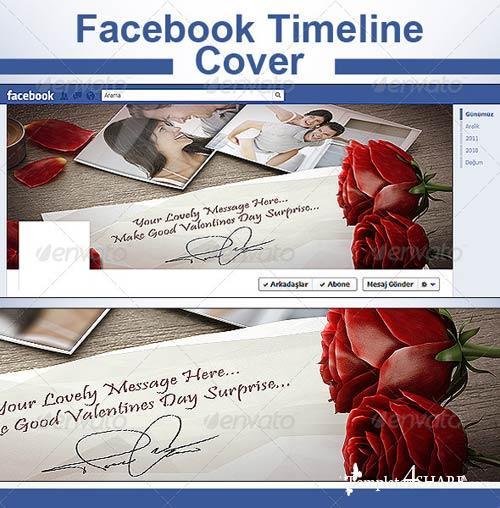 GraphicRiver Valentines Facebook Timeline