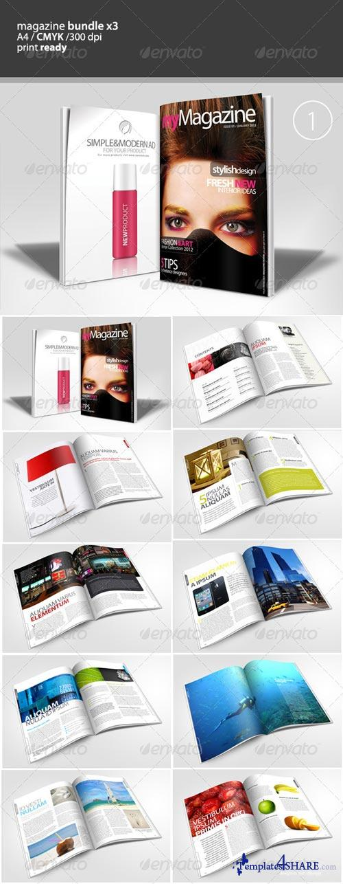 GraphicRiver Magazine Bundle