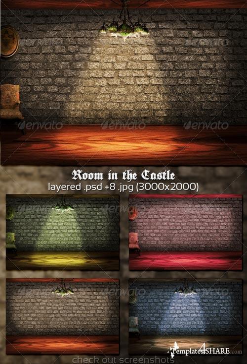 GraphicRiver Room in the Castle