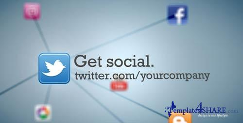 Social Media Network Animation - Project for After Effects (VideoHive)