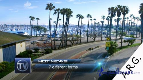Hot News Lower Third Pack - Project for After Effects (VideoHive)