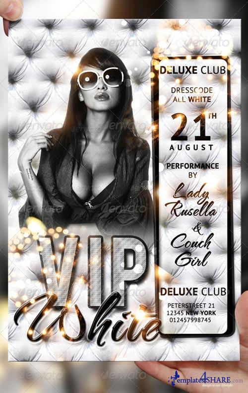 GraphicRiver VIP White Flyer Template