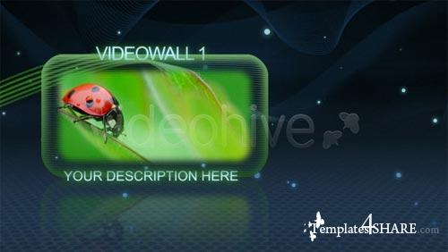 GLASS VIDEOWALLS - Project for After Effects (VideoHive)