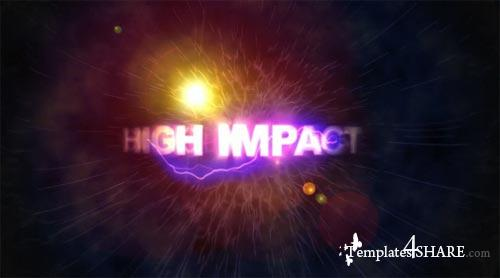 High Impact Titles After Effects Project (VideoHive)
