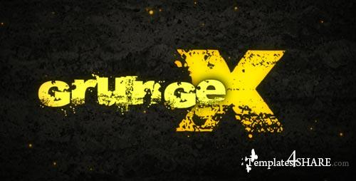 Grunge X - Project for After Effects (VideoHive)