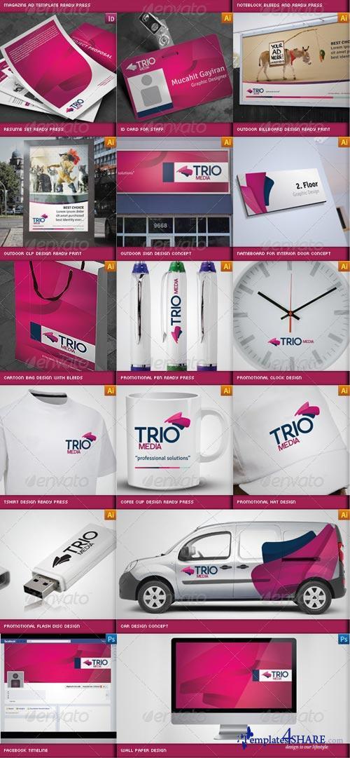 GraphicRiver Complete Business Corporate ID Catalog v3